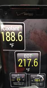 High Oil Temp And Normal Coolant Temp Ford Powerstroke