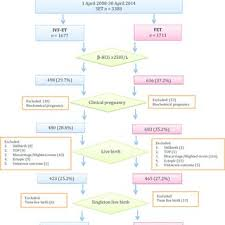 Beta Results Ivf Chart Flow Chart Of Set Treatment Cycles Selection For Pregnancy