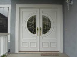 white double front door. Doors White Double Entry Artistic Door Design Model Front