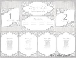 Table Seating Templates