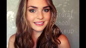 blair waldorf inspired natural back to makeup tutorial fresh skin and balanced features