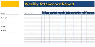 Attendance Chart Attendance Chart Template Exceltemplate