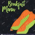 Breakfast Menu Template Design Templates Www Hpcr Tk Pdf
