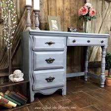 shades of gray painted vintage desk amazing vintage desks