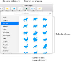 Add And Edit A Shape In Pages On Mac Apple Support