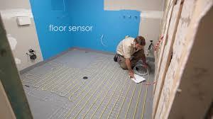 Screeding Bathroom Floor Comfort Heat Australia How To Install In Screed Electric Floor