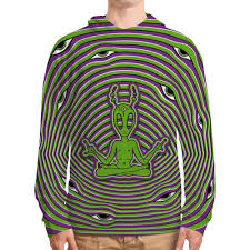 <b>Толстовка с полной</b> запечаткой Alien #2871694 от Triponautica по ...