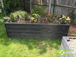 recycled plastic raised beds british