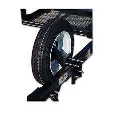 trailer parts accessories at lowes com carry on trailer spare tire wheel carrier