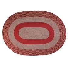 two tone country braided rug by oakridge 363863