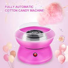 Light Up Cotton Candy Machine Childrens Diy Candy Floss Spun Sugar Maker Cotton Candy