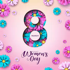 Free Vector | 8 march. <b>happy womens day</b> floral greeting card.