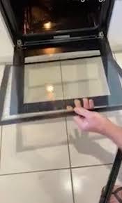 you ve been cleaning your oven door