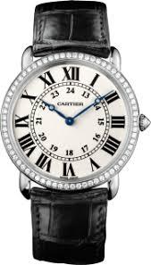 diamond men s watches ronde louis cartier watch
