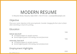 Objectives For A Resume Objective Sample Resume Examples Resume