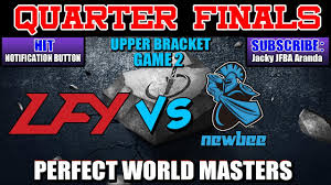 lfy vs newbee game 2 perfect world masters quarter finals please