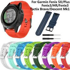 universal garmin fenix 3 soft silicone watch band wrist replacement high quality