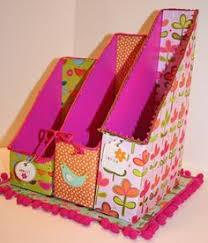 Magazine Holder From Cereal Box DIY Washi Tape Cereal Box Organizers Cereal box organizer 32