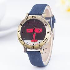 online buy whole antique german watches from antique 2016 guote brand fashion women watch ladies leather quartz watches mens german bombers vintage style wristwatch