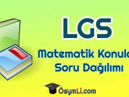 2021 LGS Matematik Konuları ve Soru Dağılımı
