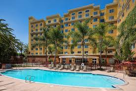 the swimming pool at or near residence inn by marriott anaheim resort area garden grove
