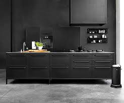 black kitchen cabinets vipp