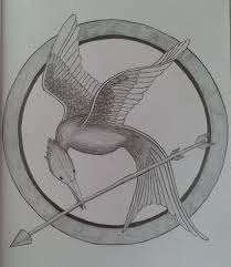 The Hunger Games Drawing Mockingjay Hunger Games Hunger Games E