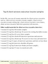 resume writing services cost executive resume writing service cost top 8  client services samples 1 in