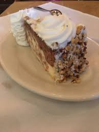 Carrot Cake Cheesecake Picture Of The Cheesecake Factory Kendall