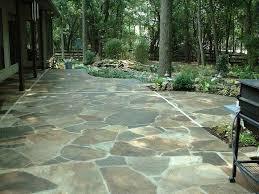fresh backyard patio landscape