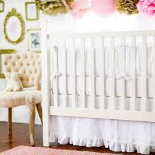 white crib bedding madison avenue collection