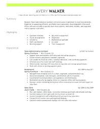 Executive Assistant Resume Templates Interesting Charming Ideas Administrative T Resume Template Word Resumes