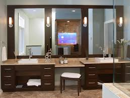 exciting best lighted makeup mirror and lighted bathroom mirrors with vanity mirror with lights diy also vanishing vanity tv mirrors cool features 2017