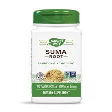 <b>Suma Root</b> (Brazilian Ginseng), <b>1,500mg</b> x 100Caps - BigVits