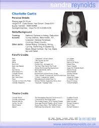 75 Beginning Actor Resume Beginners Resume Word Cover