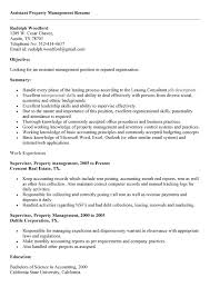 sample resume for apartment manager property manager resume objective resume template