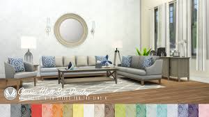 The Dump Living Room Sets Simsational Designs Classic Wall Set Wallpaper Dump 01