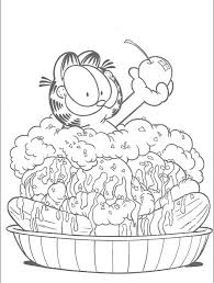 Small Picture 172 best Garfield images on Pinterest Drawings Coloring pages