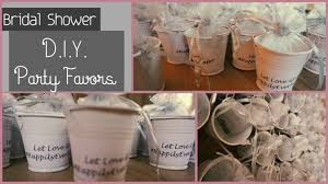 diy bridal shower baby shower party favors let love grow diy baby shower ideas