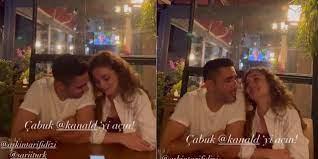 Kadir Doğulu ile Serra Arıtürk'ün videosu sosyal medyada olay oldu