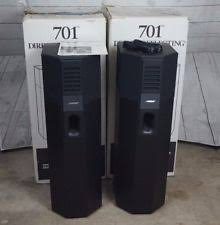 bose 701 series 1. bose 701 stereo speakers right and left direct reflecting speaker set series 1