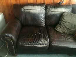 repair leather couch sofa tear faux scratches torn cushion