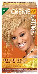 Creme Of Nature CREME OF NATURE DYE C43 LIGHTEST BLONDE price from ...