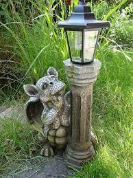 solar lamp figure gargoyle ornament