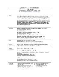 Resume Format Download Sample Resume Template Download Latest Format