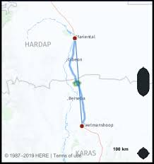 Namibia Distance Chart What Is The Distance From Keetmanshoop Namibia To Mariental