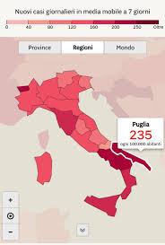 La Puglia torna in arancione ma i medici avvertono:
