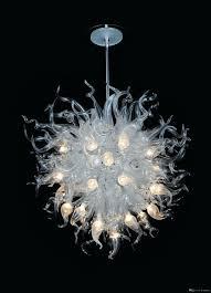 black glass chandelier style chandeliers silk lighting modern lights pleated shade