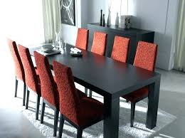 the red dinette set dining room chairs sets round glass table and house chair cushions