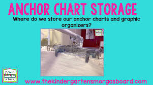 Anchor Chart Storage The Kindergarten Smorgasboard